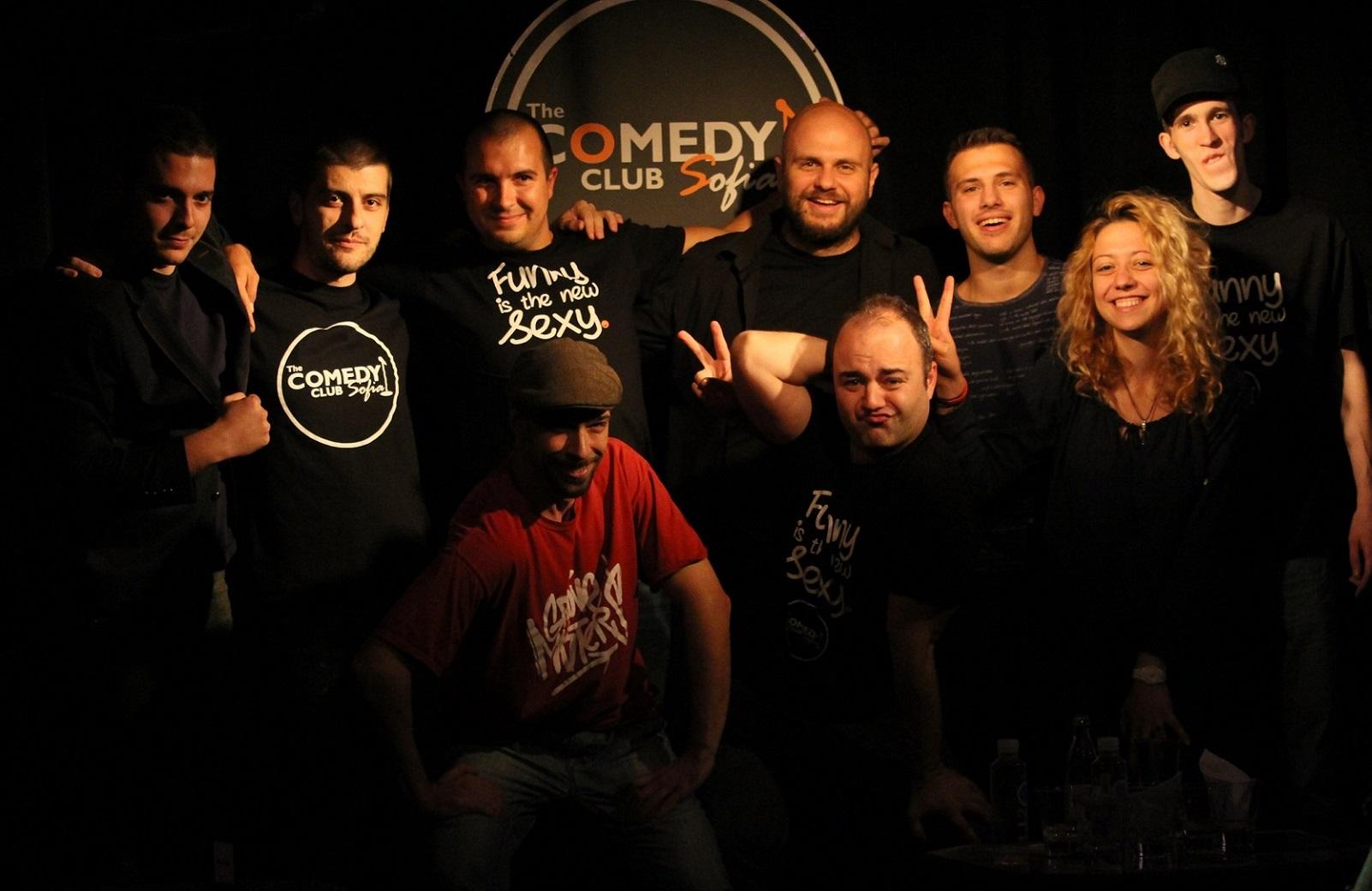 стендъп комеди фестивал на комедията български