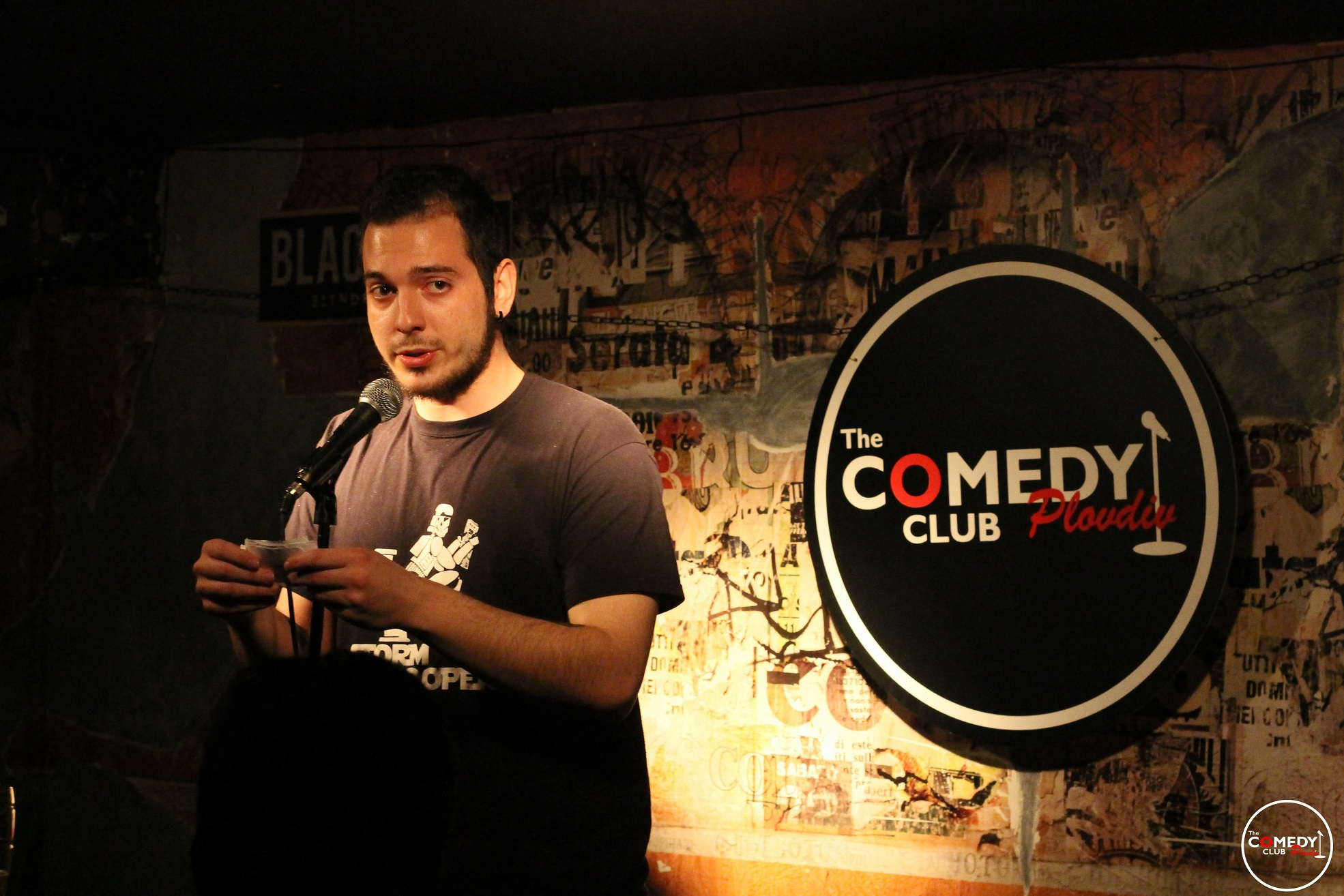 stand up comedy Nikolaos